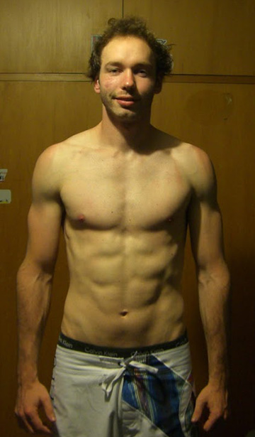 Ryan Johnston, Online Personal Training Client