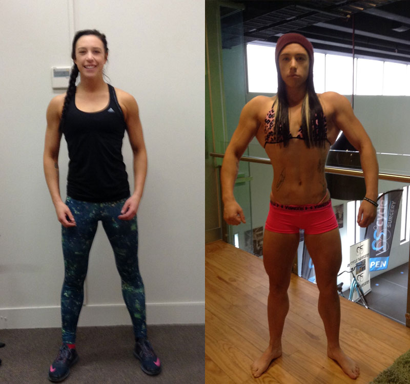 Sarah Ward, Online Personal Training client