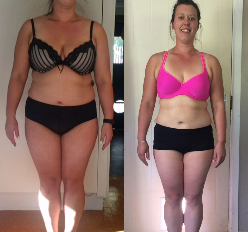 Suzanne Hooper, Online Personal Training client